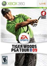 Tiger Woods PGA TOUR 09 front
